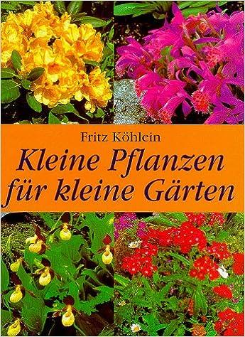 Kleine Pflanzen Für Kleine Gärten Amazonde Fritz Köhlein Bücher