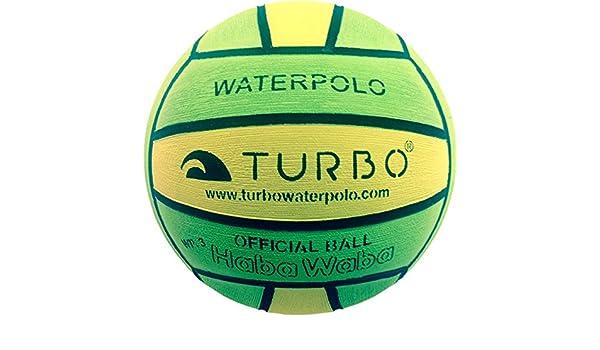 Turbo - Balón School, Color Verde/Amarillo: Amazon.es: Deportes y aire libre