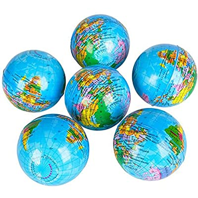 RI Novelty Earth Globe 3