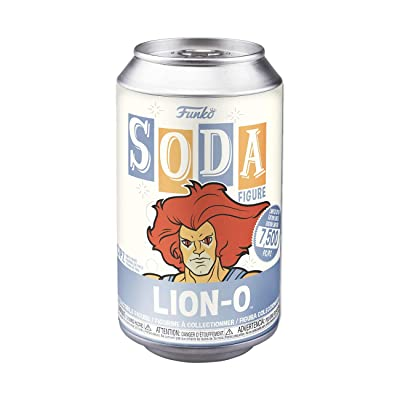 Funko 45951 Vinyl Soda: Thundercats - Lion-O w/Chase Collectible Toy, Orange: Toys & Games