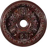Arctel CM828-MA Mahogany Finished Ceiling Medallion 28 inches