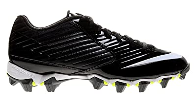 a313797cad84 Nike Men's Vapor Shark Football Cleat Black/Black/Volt/White Size 11.5 M