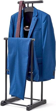 Nero Vestito Cappotto Guardaroba Guardaroba Appeso organizzatore EZOWare indossatore da Camera per Gli Uomini