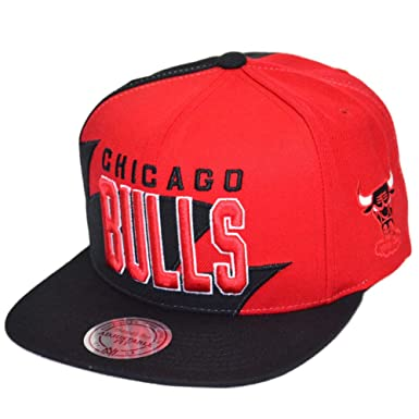 Mitchell & Ness Gorras Chicago Bulls Shark Tooth Red/Black Snapback