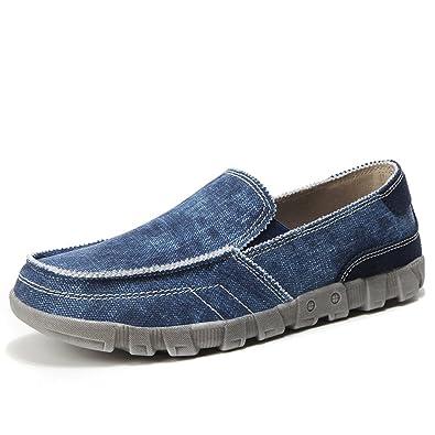 STEELEMENT Herren Casual Stoffschuhen Canvas-Slipper Loafer Outdoor-Freizeit Wandern Sneakers YoYTBnWvy