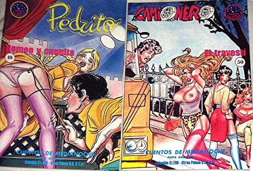 2 Sexy Fumetti Camionista, Pedrito Adult Comic #10 Vintage 1980s NEW xXx EvilFrance Italian Art Spanish