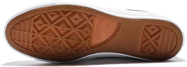 Converse Mens One Star Nubuck OX Low Top Lifestyle Fashion Sneakers Black/White/Black