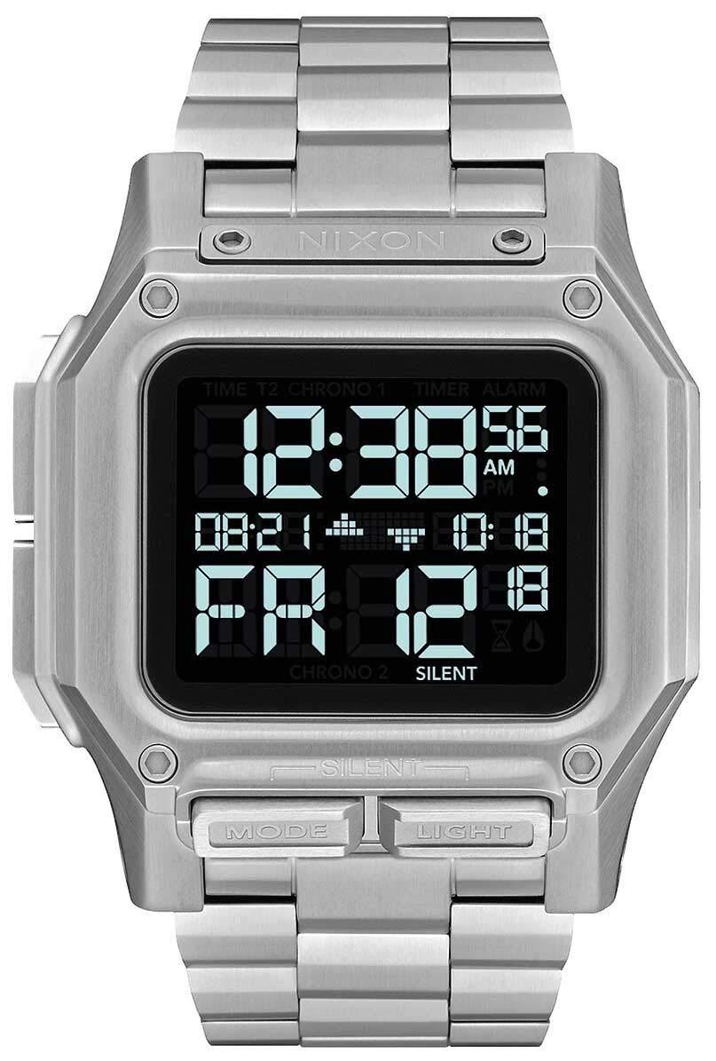 Nixon Regulus SS A1268 - Black - 100 Meter/10 ATM Water Resistant Men's Digital Watch by NIXON