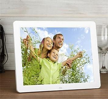 Marcos digitales MTTLS Marco de fotos digital de 12 pulgadas Slim Hi-Res con pantalla