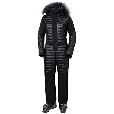 492fab464a Helly Hansen Women's Starlight Fitted Insulated Ski Suit, Black, X-Large