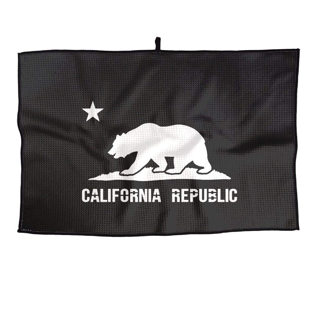 IRON1974 ゴルフタオル ゴルフタオル カリフォルニア 熊と星 スポーツタオル 23x15インチ IRON1974 ジムプレーヤータオル 熊と星 B07JHRVJBG, お酒ブランド品骨董のカインドベア:216a5d7e --- ijpba.info