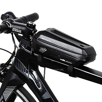 Ariyalk Bolsa de Cuadro de Bicicleta, Bolsa de Tubo Superior de ...