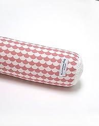 100/% made in Hamburg - Materialien OEKO-TEX/® Standard 100 zertifiziert Blausberg Baby Bettschlange Nestchen Bettumrandung Kantenschutz Kopfschutz f/ür Baby- und Kinderbett Dreiecke Rot 60 cm