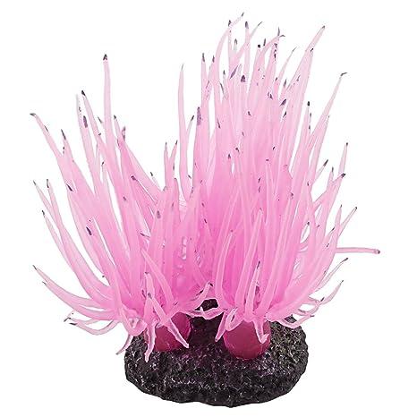 Planta de decoracion del acuario - SODIAL(R)Diseno de flor de coral decoracion