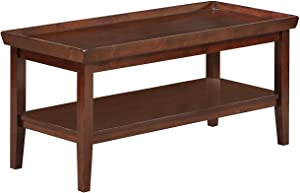 Convenience Concepts Ledgewood Coffee Table, Espresso
