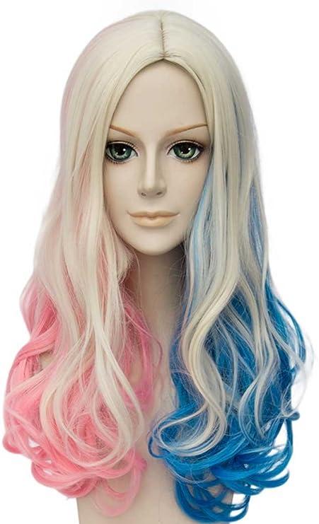 Parrucca da donna per cosplay liscia Tsnomore con codini