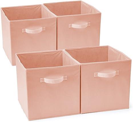 EZOWare Caja de Almacenaje con 4 pcs, Set de 4 Cajas de juguetes ...
