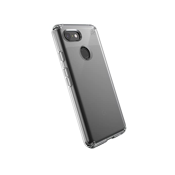 new arrival 6d351 d4101 Speck Products Compatible Phone Case for Google Pixel 3, Presidio Stay  Clear Case, Clear/Clear