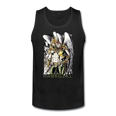 41732c1fdc2566 Amazon.com  Qincent Men Tank Top Organic Cotton T Shirts Hawkgirl ...