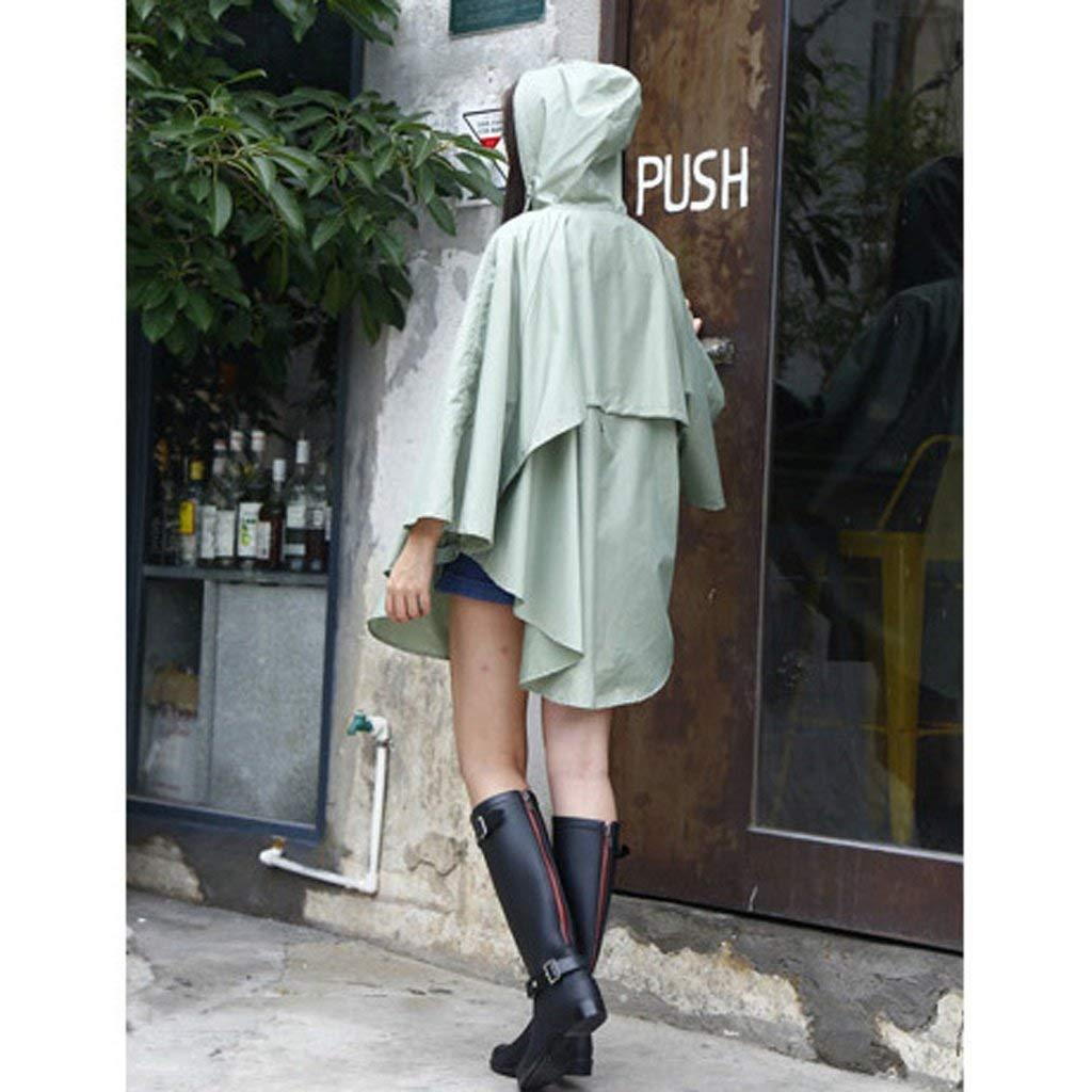 WYJW Manteau Mode Imperm/éable Femme /À Pied Escalade Poncho Longue Section /Étanche Randonn/ée Coupe-Vent Individuel