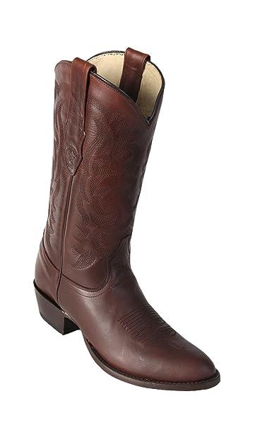 2886bd87410 Amazon.com | Los Altos Boots Mens Pull Up Round Toe Western Cowboy ...