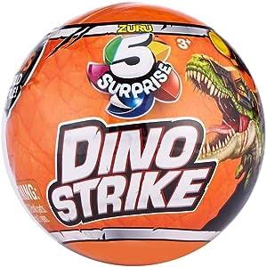 ZURU 5 Surprise Dino Strike Mystery Capsule Collectible Toy