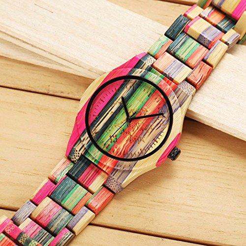 Bewell Handmade Bamboo Watch
