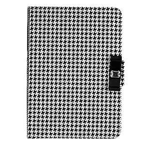 New Style Elegent Grid Flip Cover Case for Ipad Ari