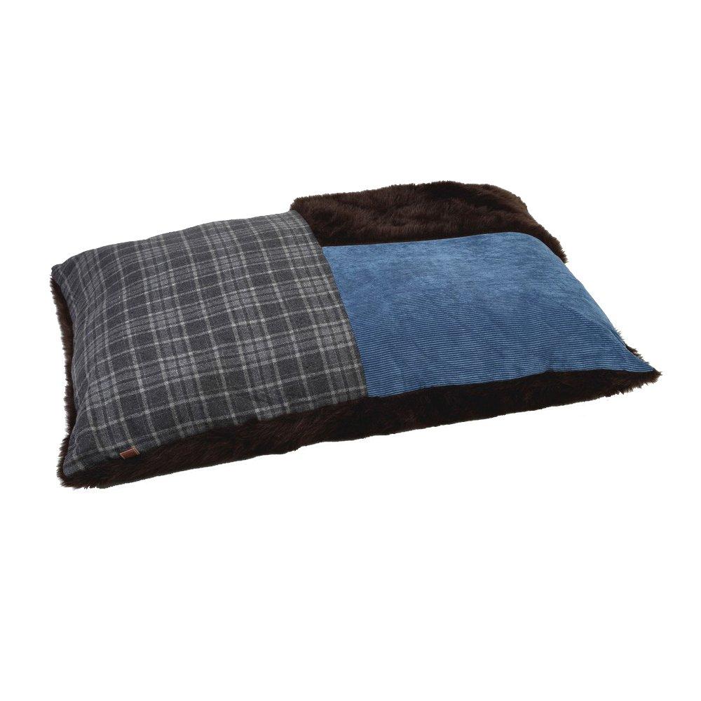 Designed by Lotte Rest Cushion Dog Basket Djork, 100 x 70 cm, bluee