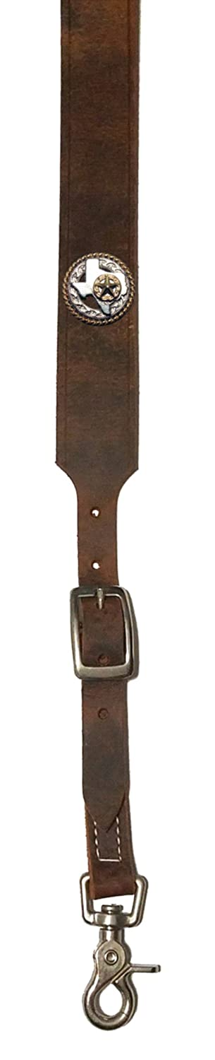 Custom Texas Rope and Star Leather suspenders