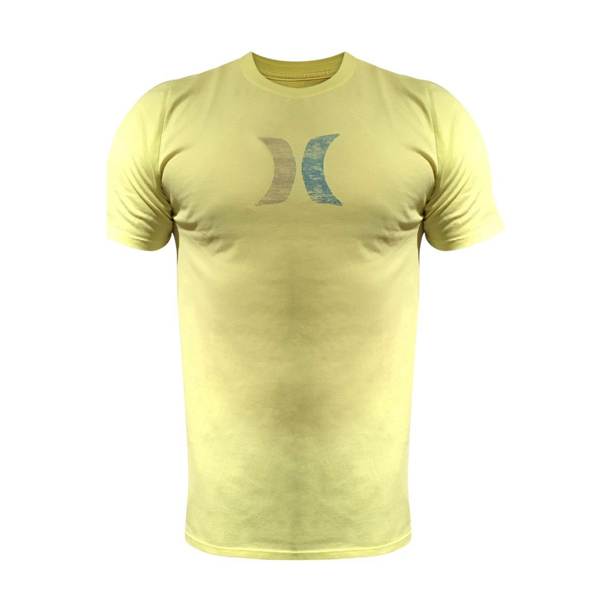 Hurley MTS0023530 Men's Icon Push Through T-Shirt