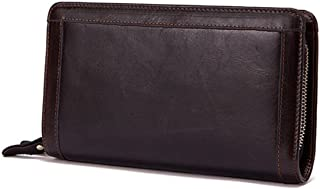 Men's Wallet Vintage Leather Clutch Bag Clutch Bag Business Multi Card Pack Birthday Gift