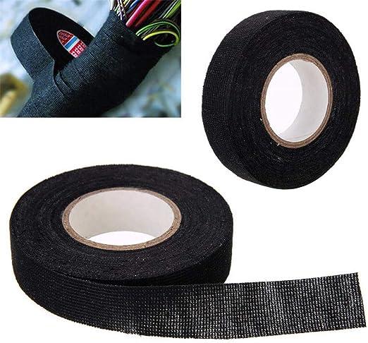 EisEyen - Cinta Aislante Adhesiva para Cables de Coche (PVC, ignífuga, Impermeable, 20 m): Amazon.es: Hogar