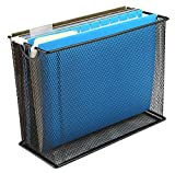 Mind Reader File Storage Box/Basket for Letters, Legal Documents, Filing Documents, Folders, Office Organizer