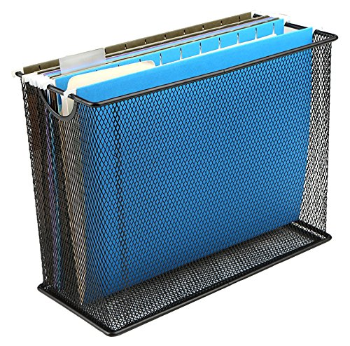 hanging file storage baskets - 4