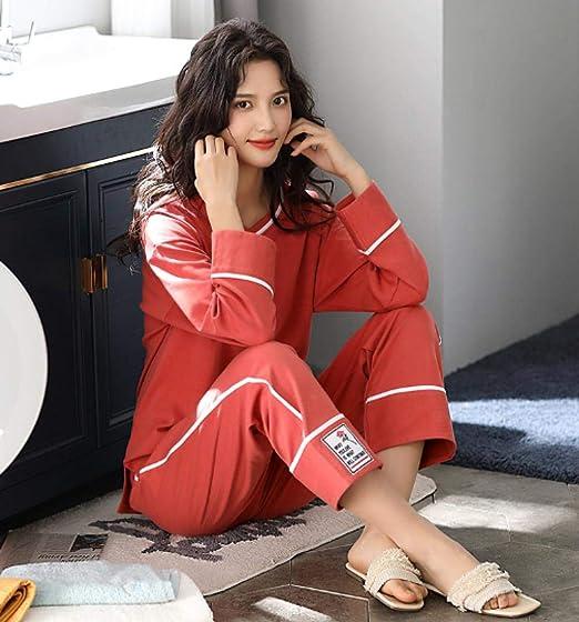 lxylllzs con Botones Pijama Comodo Dormir,Pijama de Mujer ...