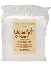 Warm Cálido Company Natural y cálida algodón de bateo,, 30,48x 24.13x 5,08cm
