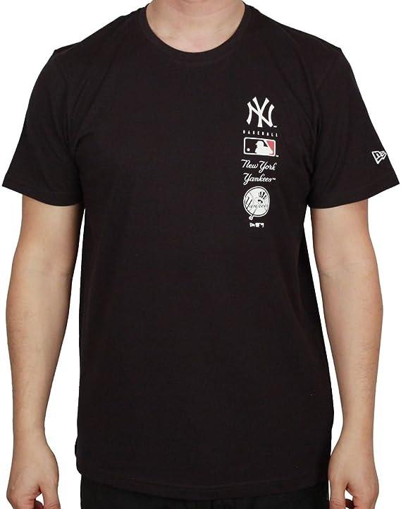New Era MLB Logo Tower T-Shirt York Yankees: Amazon.es ...