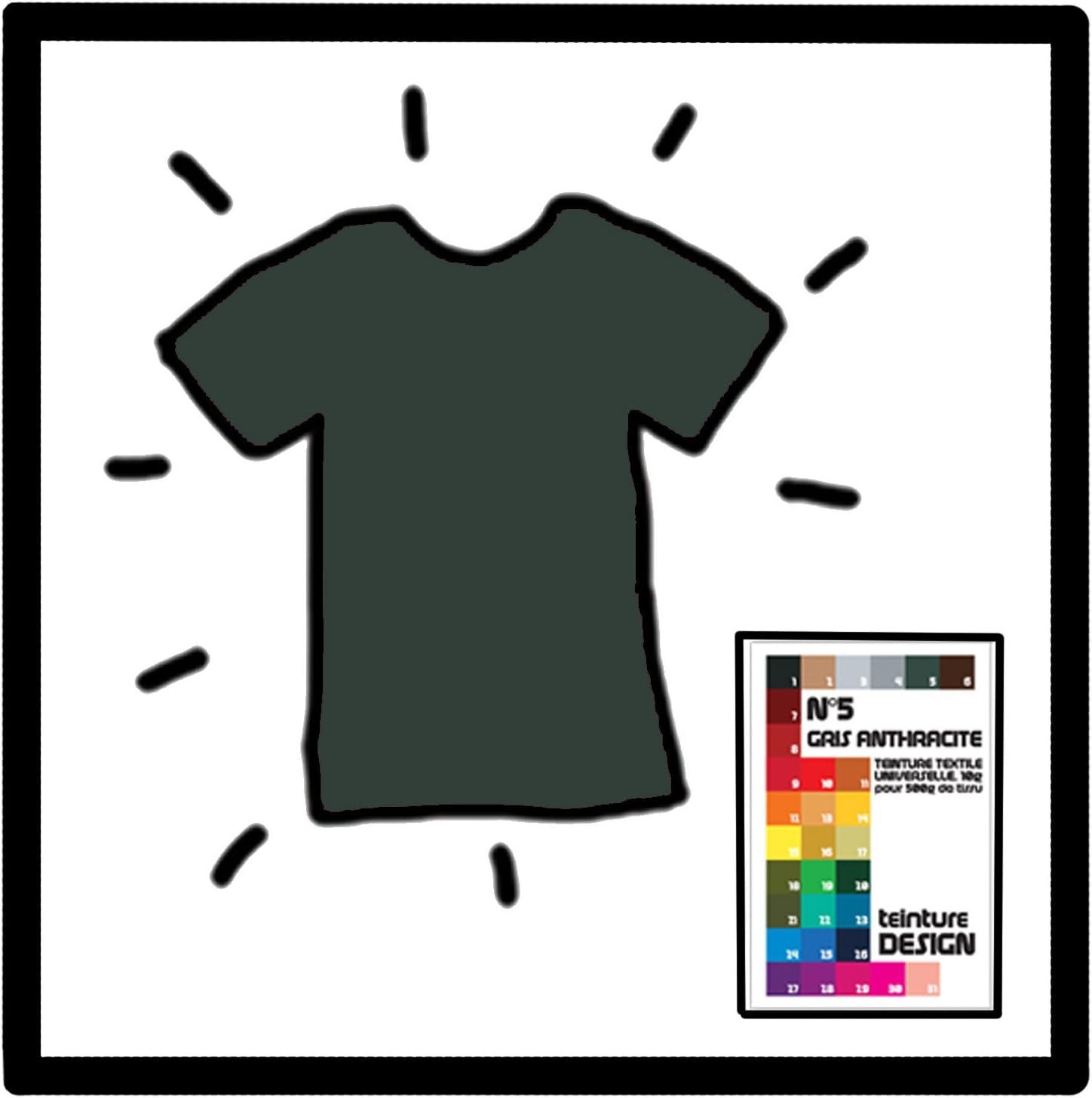 Teinture Design: tinte para tela, color GRIS ANTRACITA