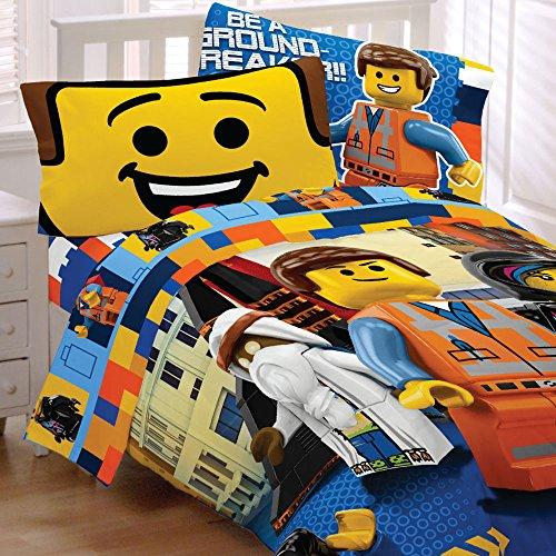 MovieTwin Bedding Emmet Wyldstyle Comforter