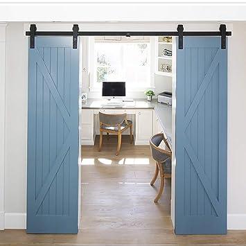 Sistema de puertas correderas, kit puerta corredera sistema de ...