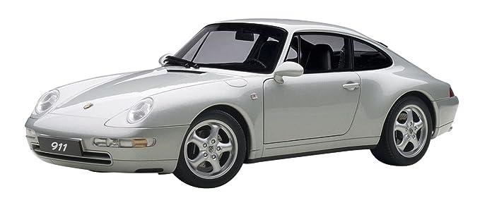 AUTOart - 78131 - Porsche 911/993 Carrera - 1995 - Escala 1/18 - Plata: Amazon.es: Juguetes y juegos