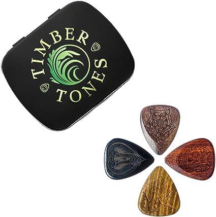 Tattoo Tones TAT-MT-4- Juego de 4 púas para guitarra: Amazon.es ...