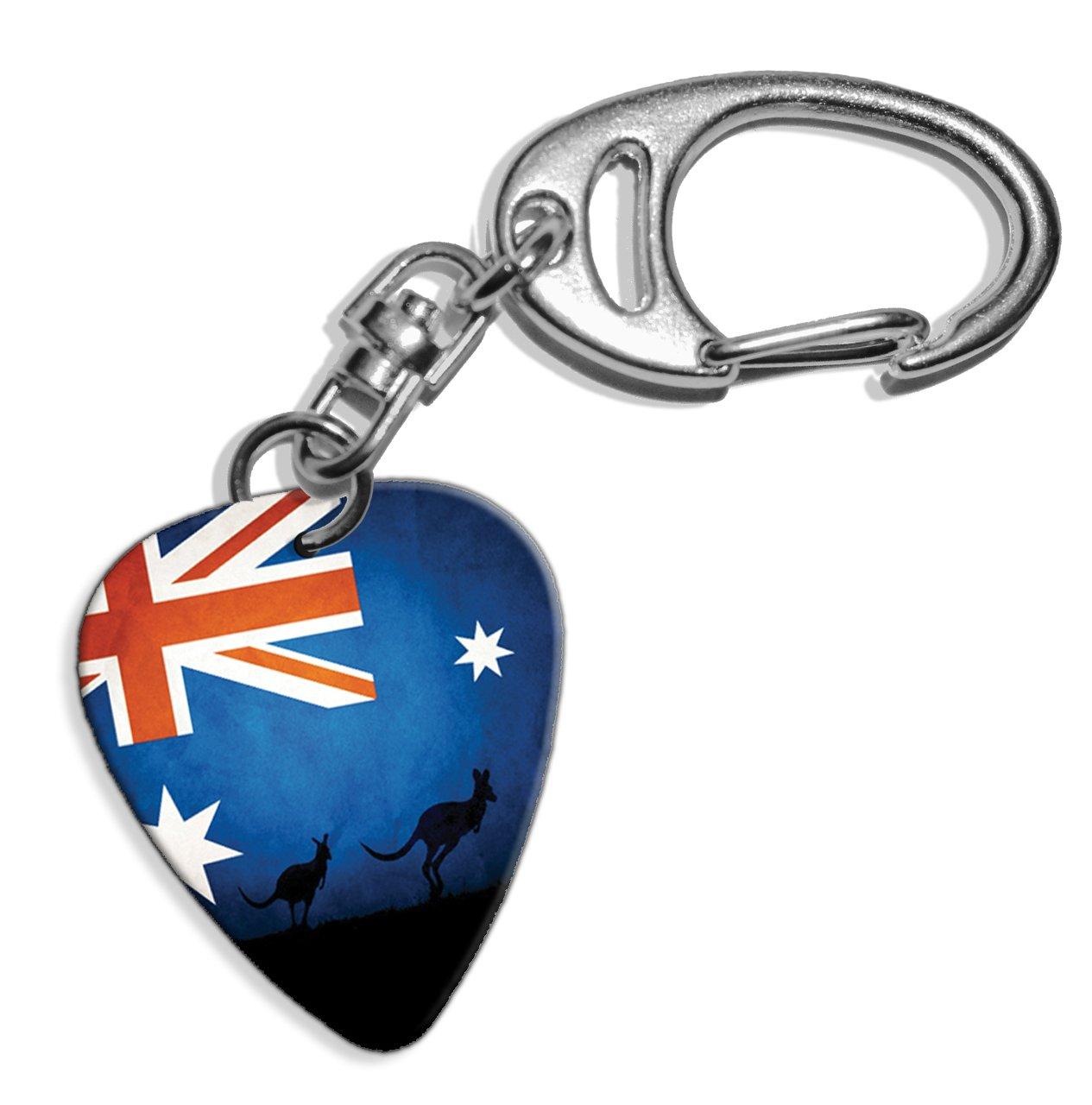 Amazon.com: Bandera de Australia canguro Logo Púa De ...