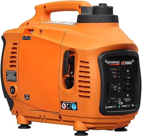 Generac 6719 IX Series 2000 Portable Inverter Generator