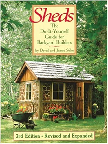 Sheds the do it yourself guide for backyard builders david stiles sheds the do it yourself guide for backyard builders david stiles jeanie stiles 9781554072248 amazon books solutioingenieria