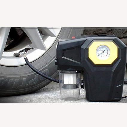 H.L Inflador Digital del neumático 12V, compresor de Aire con el Aspirador, para los