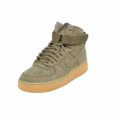 Nike Air Force 1 High Medium Olive Men's Women's Running Shoes Sneakers 922066 202