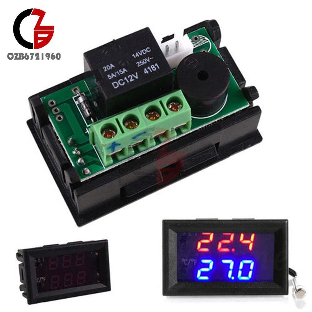 W1209WK 90~250V 10A Temperature Controller Sensor Thermostat -50~110℃ NTC10K (W1209WK)