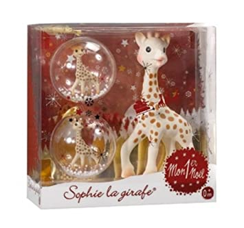 Amazon.com : Baby's Chrismas Gift, Sophie the Giraffe My First ...